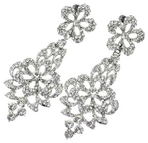 Bridal Statement Earrings Austrian Crystals