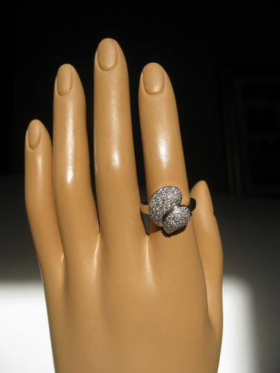 Victoria Casal 14 Kt Gold And Diamonds Ring. Size 52 . Made In France