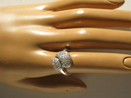 14 Kt Gold and Diamonds Size 52 Made In France Ring