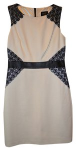 Laundry by Shelli Segal short dress White and Black Sheli Lace on Tradesy