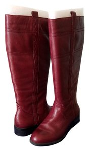 White Mountain Burgundy Boots