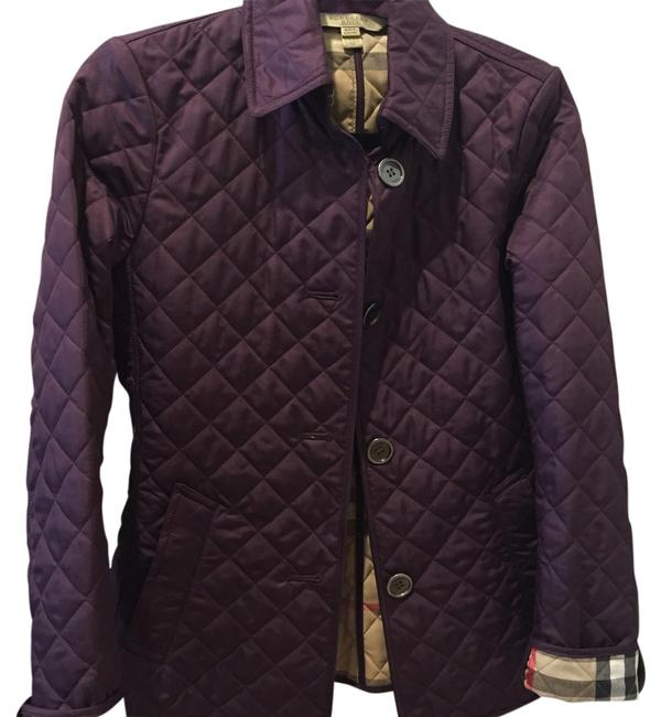 Item - Purple Copford Quilted Jacket Size 2 (XS)