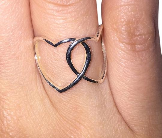 Anthropologie Anthropologie Double Heart Ring