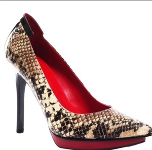 Guess Snakeskin Pumps