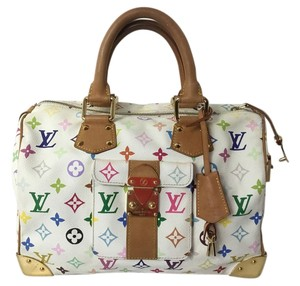 Louis Vuitton Speedy 30 Murakami Satchel
