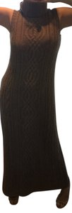 Brown Maxi Dress by Magaschoni Cashmere