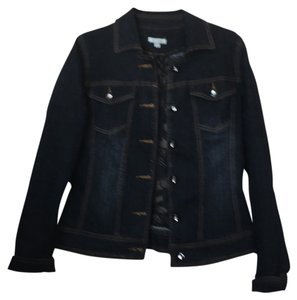 Style & Co Denim dark blue Womens Jean Jacket