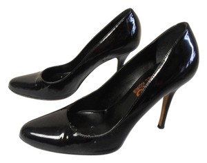 Michael Kors Made In Italy Patent Leather Designer Kors Stiletto black Pumps