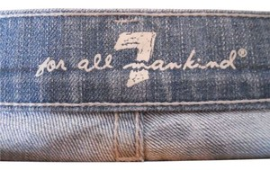 7 For All Mankind Style P277387s-387s Cut# 713669 Capri/Cropped Denim-Distressed