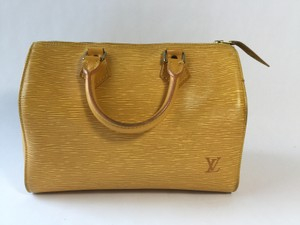 Louis Vuitton Speedy Epi Speedy Epi Speedy Satchel in Yellow