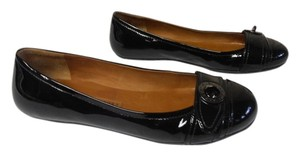 Marc by Marc Jacobs Designer Rubber Sole Patent Leather black Flats