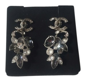 Chanel Authentic Chanel crystal earrings