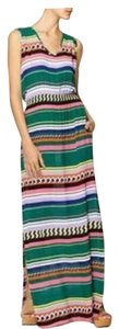 aztec print Maxi Dress by Monrow Maxi