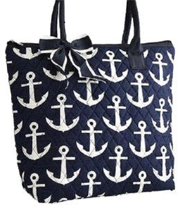 Other Tote in Blue , White