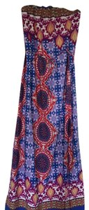 Blue, purple Maxi Dress by Other