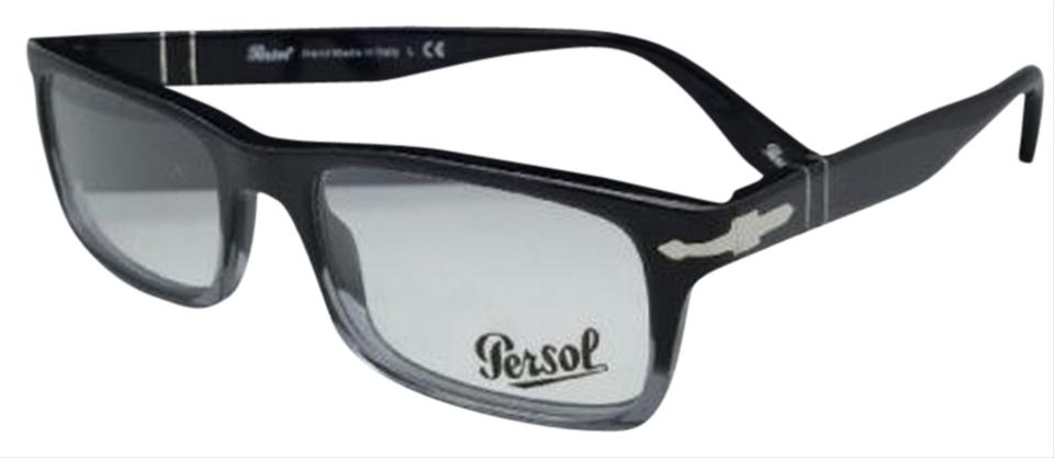 0f98bf3dce Persol New PERSOL Rx-able Eyeglasses 3050-V 966 53-18 Black Gradient ...