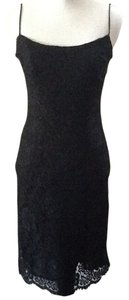 Brooks Brothers Lace Chic Black Sexy Dress