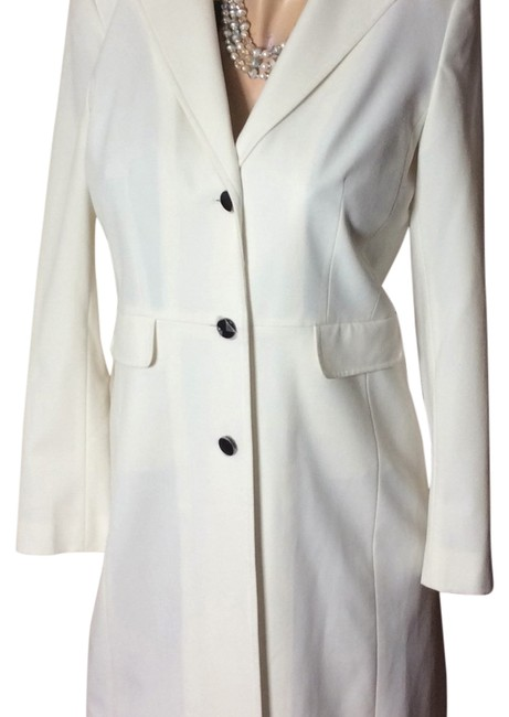 "Item - White Sale ""New"" Lined Spring Coat Size 10 (M)"