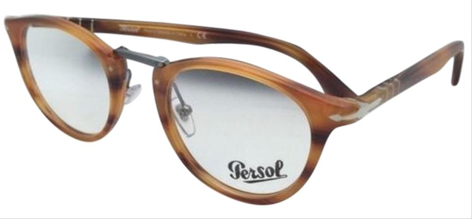 17d08a9bec Persol 3107-v 960 Stripped Brown Frames New