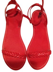 Madewell Red Sandals