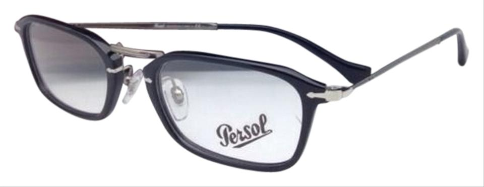 5446b34682be1 Persol New PERSOL Rx-able Eyeglasses 3044-V 95 52-21 Black Frames ...
