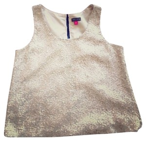 Vince Camuto Top white sequin