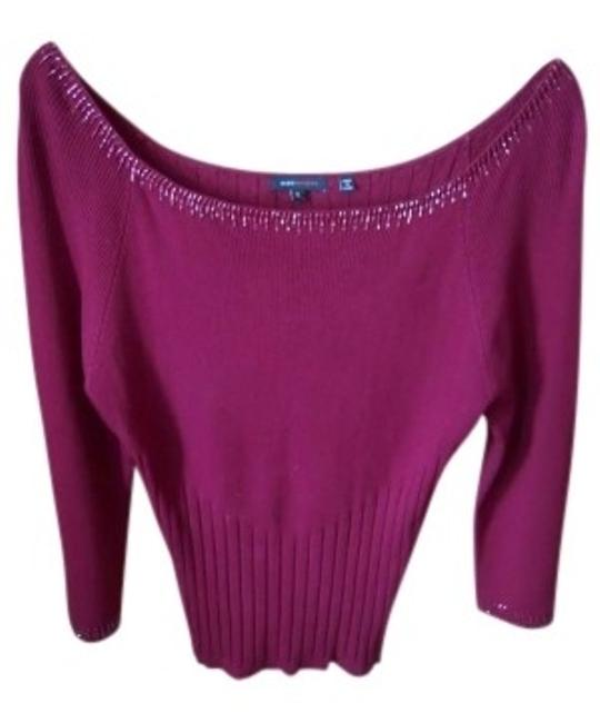 Preload https://item3.tradesy.com/images/bcbgmaxazria-cranberry-sweaterpullover-size-16-xl-plus-0x-149347-0-0.jpg?width=400&height=650
