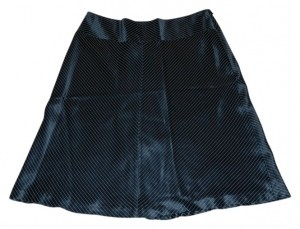 Banana Republic Skirt Black / White Pin Stripe