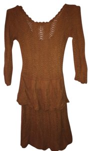 Anthropologie Knit Knitted & Knotted Dress