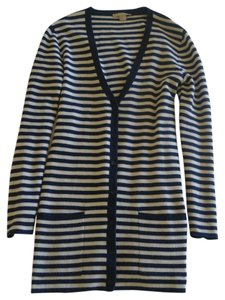 Michael Kors Navy Striped Sweater