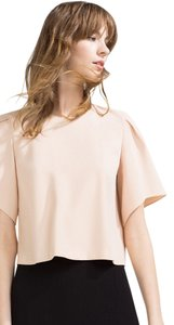 Zara Crop Top Nude