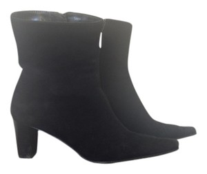 Aquatalia by Marvin K. Waterproof Lined Black Suede Boots
