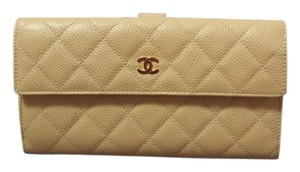 Chanel Chanel Quilted Classic Long Double Wallet