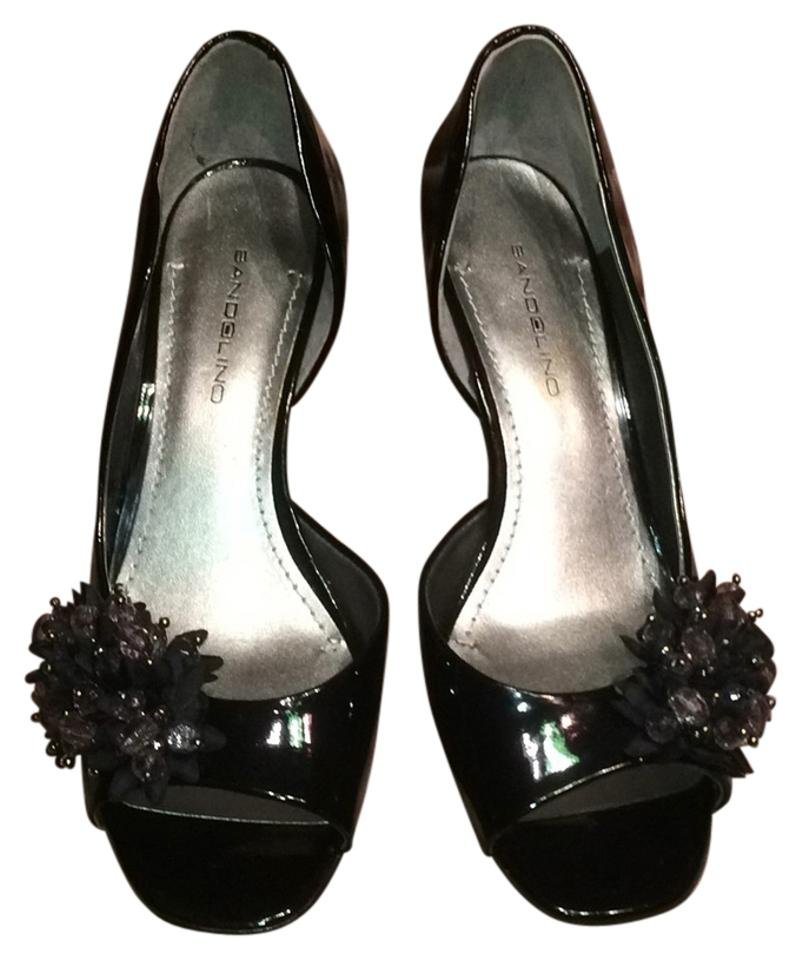 Black Patent Leather Bandolino Shoes