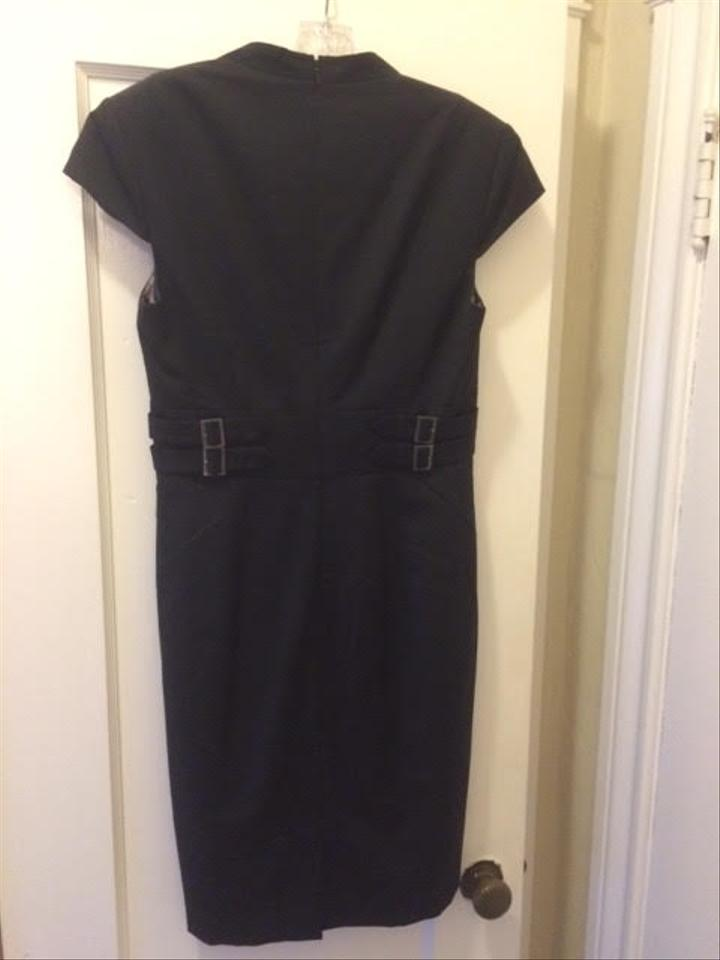 office Ca25459 81 Off Retail Size Dress Rn95229 ; 4 Black Work Mid-length Baker Ted s