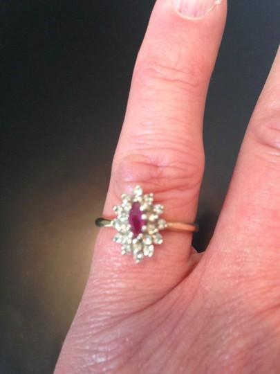 Other Vintage Ruby and Diamond Ring Image 1