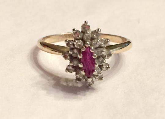 Other Vintage Ruby and Diamond Ring Image 3