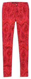 JOE'S Ikat Boho Highwater Skinny Jeans-Medium Wash