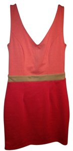 Forever 21 short dress Coral/Peach on Tradesy