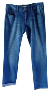 CAbi Confortable Pretty Style Straight Leg Jeans-Medium Wash