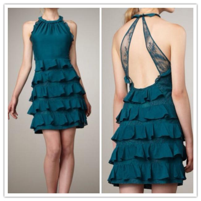 Preload https://item4.tradesy.com/images/rebecca-taylor-dress-turquoise-1493808-0-0.jpg?width=400&height=650
