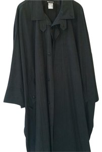 Issey Miyake Dolman Sleeves Batwing Sleeves Trench Trench Coat