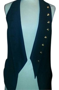 Seventy Two Changes Gold Button Studded Vest