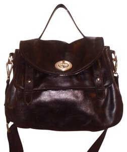 Halogen Leather Shoulder Bag