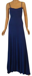 Blue Maxi Dress by Wyatt Maxi