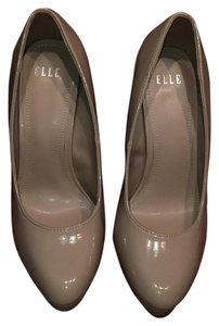 Elle from Kohl's Nude patent Platforms