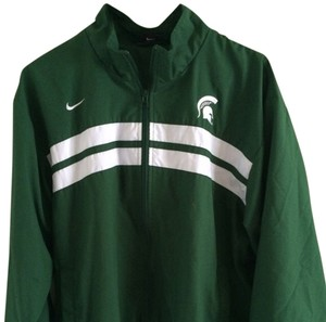 Nike Green & White Jacket