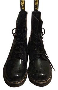 Dr. Martens Glossy Black Boots
