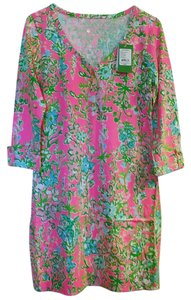 Lilly Pulitzer short dress Flamingo Pink on Tradesy