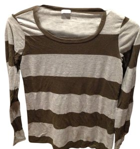 Splendid T Shirt olive and grey